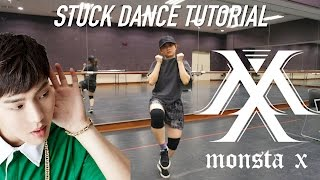 MONSTA X Stuck(네게만 집착해) Dance Tutorial | FULL with Mirror [Charissahoo] width=