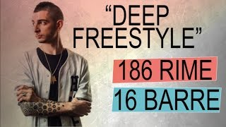 "MADMAN chiude 186 rime* in 16 barre! - ""Deep freestyle"" - CTR ITA #03"