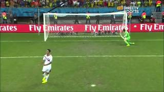 Holanda 0 - 4   Costa Rica 0 -3   Mundial Brasil 2014 - Directv sports