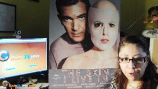The Skin I Live In  with Antonio Banderas and Pedro Almodovar (review with Jenny)