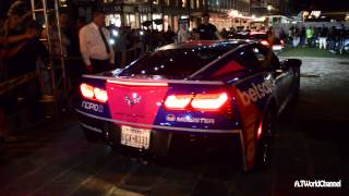 TWERK the Chevrolet Corvette Stingray C7 With the Hot Girl! Gumball 3000 Rev