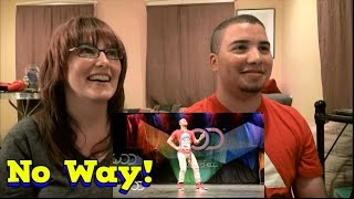 MOM AND SON'S REACTION TO! Fik-Shun FRONTROW  World of Dance Las Vegas 2014