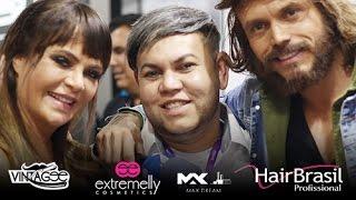 Extremelly Cosmetics na Hair Brasil 2017 - Valentina do Ratinho feat Jasão Valério