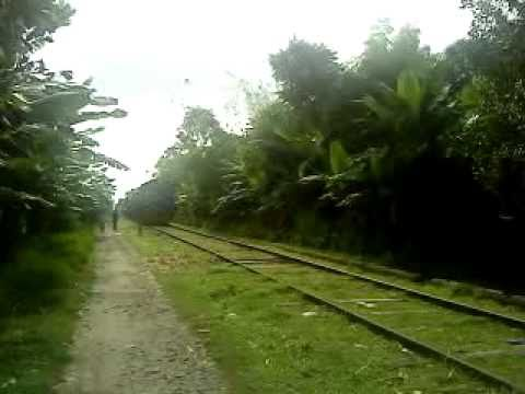 Bangladesh Railway Goalondo ghat-Poradah jn Shuttle Train video.MP4