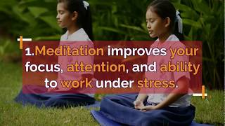 7 incredible benefits of Meditation. ध्यान करने के 7 अद्धभुत  फायदे।