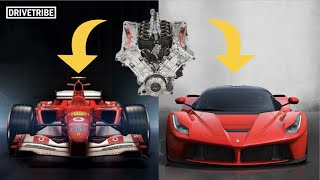 Why it's difficult to put an F1 engine in a road car