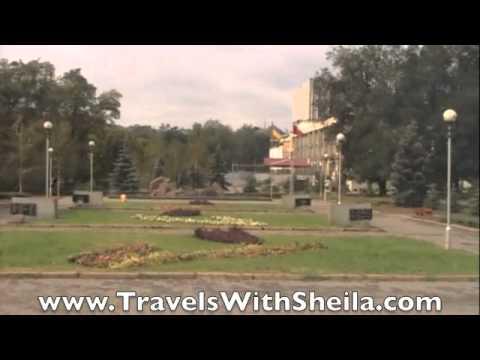 Viking Cruise Lomonosov: City Tour of Zaporozhye, Ukraine