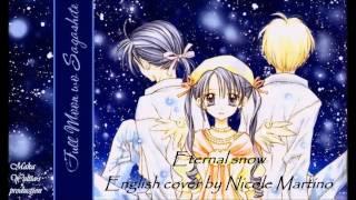 Nightcore - Eternal Snow || Full Moon Wo Sagashite [English Cover]