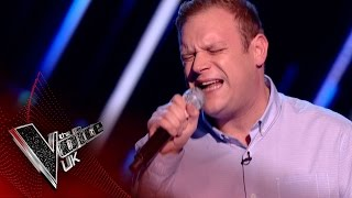 Jason Jones performs 'Pillowtalk': Blind Auditions 1 | The Voice UK 2017