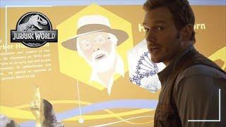 Chris Pratt in the Innovation Center width=