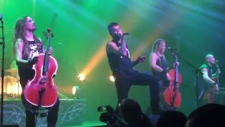 "Apocalyptica ""I'm Not Strong Enough"" Shadowmaker Tour - Dallas, TX"