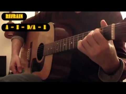 Comment jouer La poupée qui fait non de Polnareff à la guitare