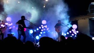 "Portugal. The Man. ""All the Young Dudes"" (cover) @ Terminal 5 NYC 10/20/2011"