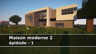 Minecraft Maison Moderne Ep Hd With Petite Maison Moderne