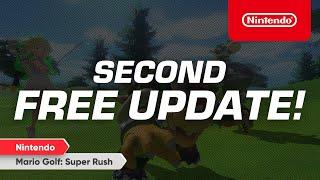 Nintendo Direct: Mario Golf: Super Rush - Free Update Released