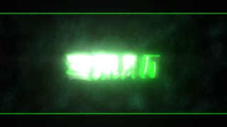 Free Epic Green 3D Intro Template // Panzoid - Icey