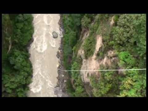 Dania Bungy Jumping on Utopia Himalaya summer 2012 camp