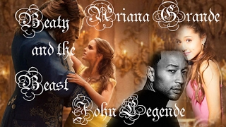 Ariana Grande - Beauty and the Beast  Ft.John Legend (Official Audio)