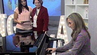 "Patrícia Valadão toca ""Tu és fiel, Senhor"" | OS GIDEÕES"