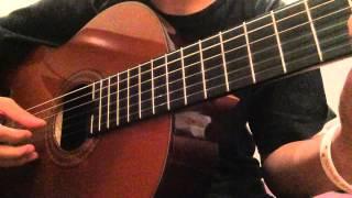 Naruto Shippuuden OST 2 - Ochihabune (Guitar Cover)