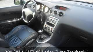 Peugeot 308 SW 1.6 VTi XS Leder Clima Trekhaak 1500kg Panoramadak Etc