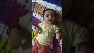 Nishtha - my 5 month old little girl moaning