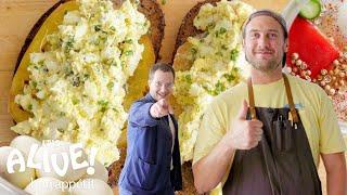 Brad Makes Pickled Fermented Eggs | It's Alive | Bon Appétit width=