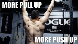 How to Increase Pull Up and Push Up (턱걸이/푸쉬업 늘리는 방법)