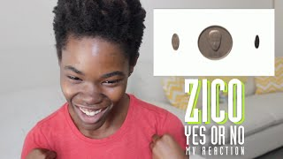 ZICO (지코) - 말해 Yes or No | MV Reaction