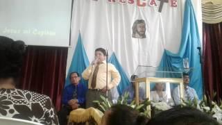Jesús mi capitán canción. Sebastián  Rodas