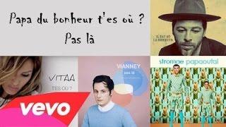 Christophe Maé feat. Stromae, Vianney & Vitaa - Papa du bonheur t'es où ? Pas là