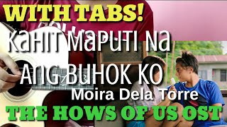 Kahit Maputi Na Ang Buhok Ko (With Tabs) Moira Dela Torre | Fingerstyle Guitar Cover by Abz Collado