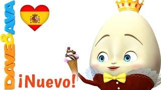🥚 Сanciones Infantiles | Humpty Dupty  | Canciones Infantiles en Español de Dave y Ava 🥚