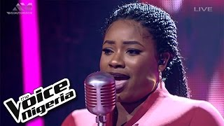"Shammah sings ""I'd Rather Go Blind""/ Live Show / The Voice Nigeria 2016"