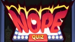 Nope Quiz - Solution Questions 81 à 90