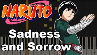 Naruto - Sadness And Sorrow (Cover)