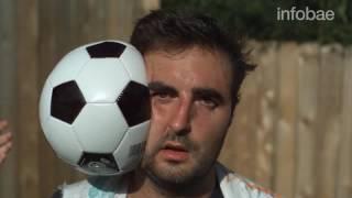 Así se ve un pelotazo en el rostro filmado con la cámara más lenta del mundo.