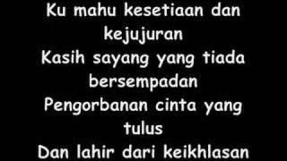 Siti Nurhaliza-Ku Mahu [Lyrics]