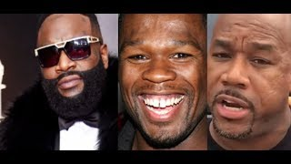 Wack100 and 50 Cent REACT DISRESPECTFULLY to Rick Ross in The Hospital and Having Health Issues