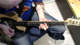 Police Squad Theme for Electric guitar