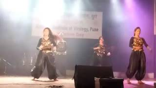 Dance performance on Bollywood Mix Songs At NIV, Pune