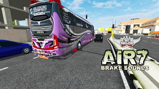 BUSSID | AIR7 Brake Sounds