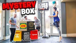 Last To Miss MINI HOOP DUNK Wins Mystery BOX!