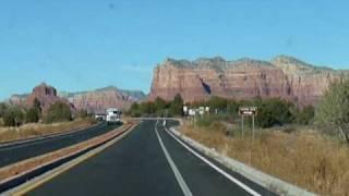 Driving through Sedona, Arizona listening to Glitch Mob