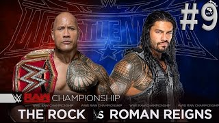 The Rock vs Roman Reigns | Wrestlemania 32 width=