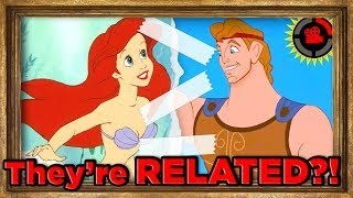 Film Theory: Ariel is RELATED to Hercules?! (Disney's Connected Universe) width=