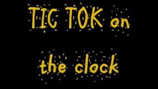 TIK TOK Ke$ha lyrics