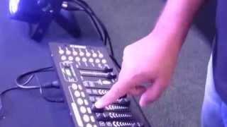 Configurando PAR LED em uma Mesa DMX 512