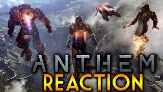 Anthem Teaser - BioWare's New IP Reaction! | EA Play 2017 Conference