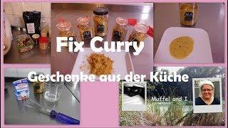 Fix Pulver für Currysoße, selbstgemachtes Soßenpulver - Geschenke aus der Küche -